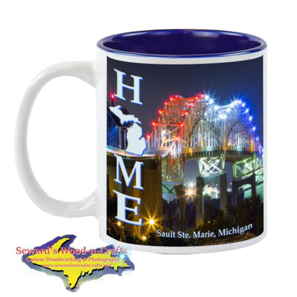 Michigan Made Cup/Mug Home Sault Ste. Marie International Bridge Yooper Gifts