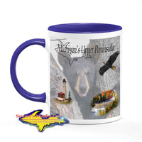 Michigan Made Wildlife Mugs Michigan's Upper Peninsula Bear Cub Cup Yooper gifts & collectibles