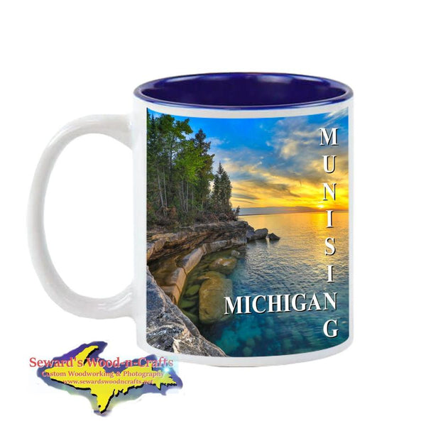 Michigan Made Coffee Cup/Mug Munising Michigan Yooper Gifts