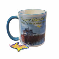 11oz Mug Stewart J. Cort Great Lakes Freighters Backside Image