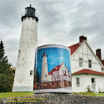 Point Iroquois Lighthouse Coffee Cup/Mug Michigan Made Gifts