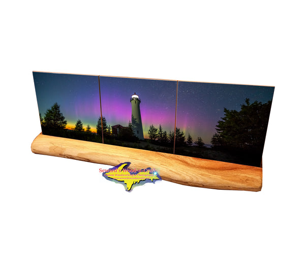 Michigan Lighthouse Crisp Point -0389  Yooper Art, Gifts, & Colloectibles