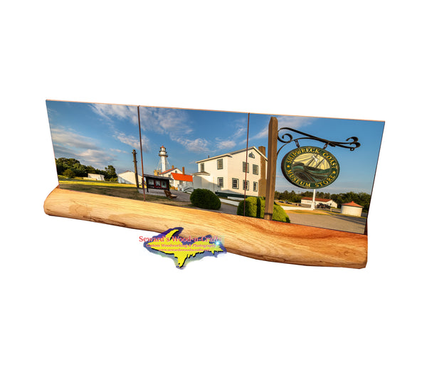 Whitefish Point Lighthouse-3499 Michigan Made Coasters