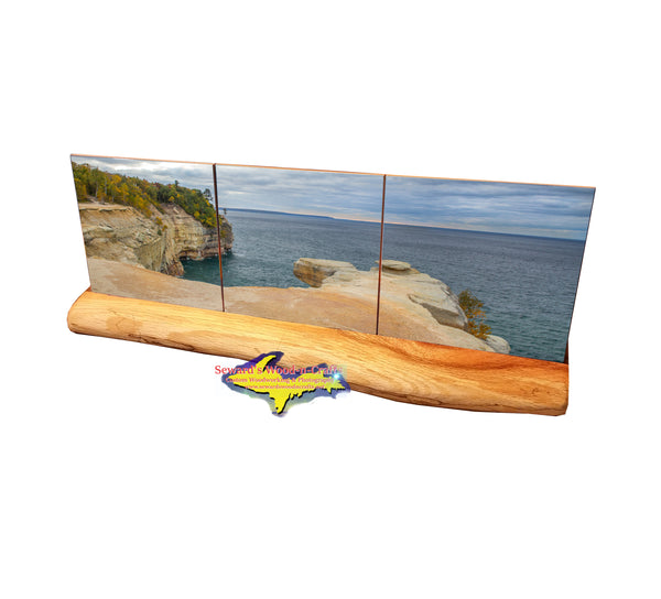 Picture Rocks Grand Portal -5948  Michigan Made Products Coasters