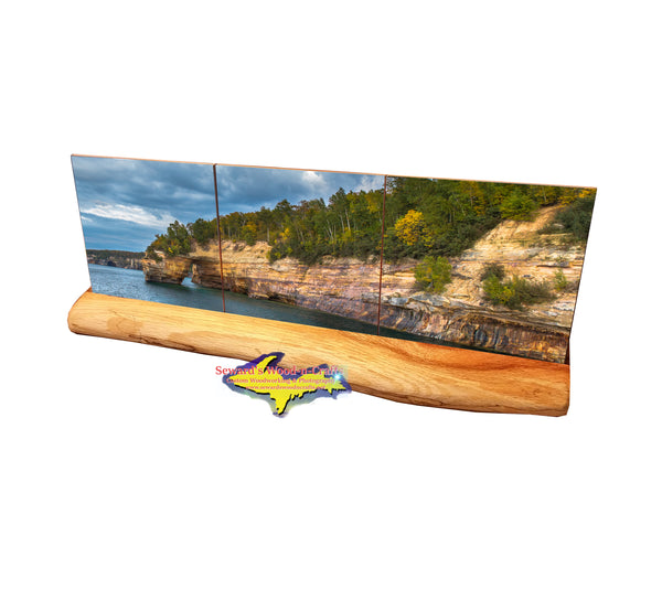 Pictured Rocks Lovers Leap -5730  Michigan Coasters & Gifts