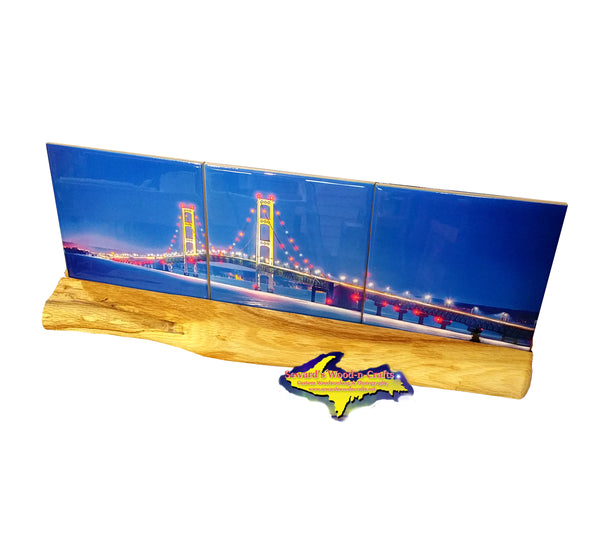 Mackinac Bridge -8266 Michigan Products Coasters & Trivets