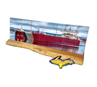 Edger Speers Panoramic Photo Coaster Sets For Great Lake Freighter Fans