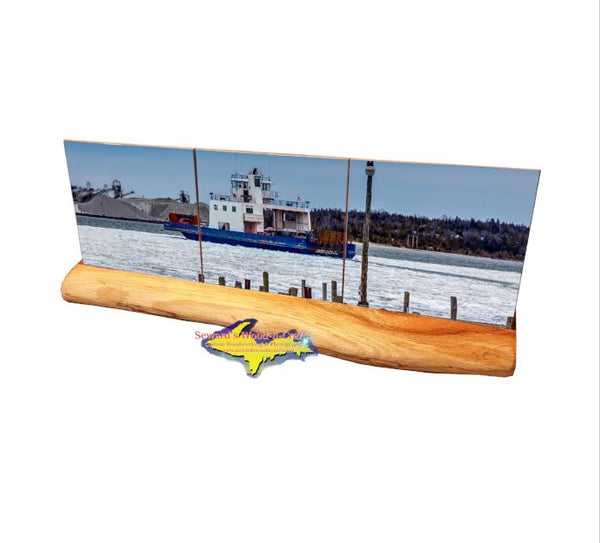 Drummond Island Ferry Coaster Set Detour Michigan Gifts And Collectibles
