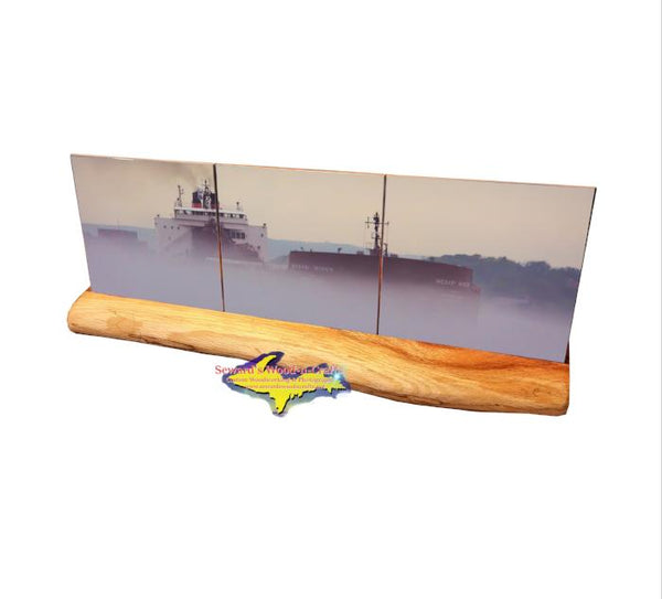 Mesabi Miner Panoramic Coaster Set Great Lakes freighter Gifts