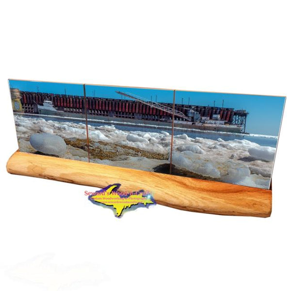 Great Lakes Freighter Michipicoten Marquette Ore Dock Best Michigan Made Gifts For Boat Nerds