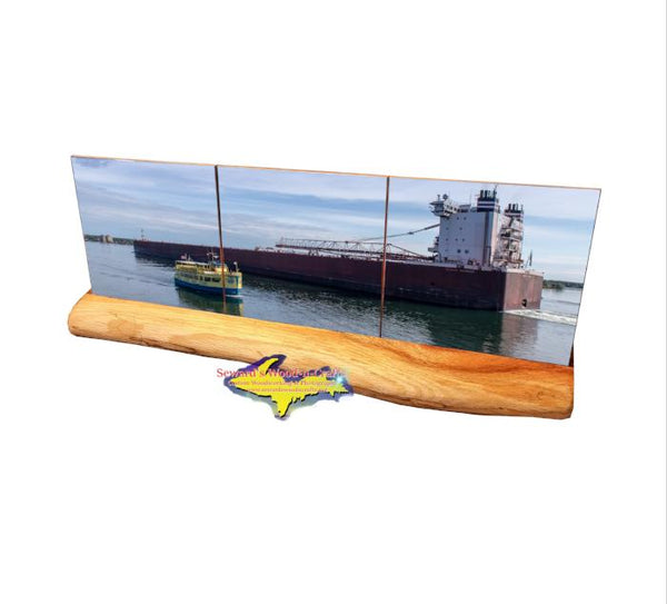 Paul R Tregurtha Soo Locks Boat Tour Coaster Set Sault Ste. Marie, Michigan Gifts & Collectibles