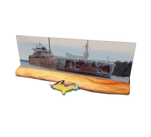 Great Lakes Freighter Gifts  Presque Isle Set  For Boat Nerd Lovers