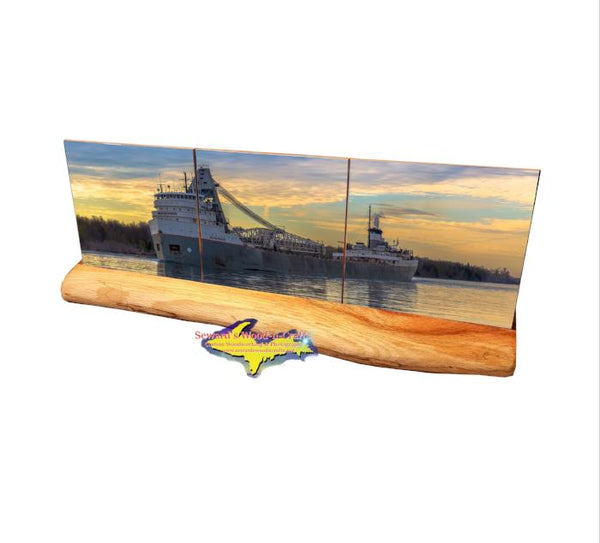 Ship Saginaw Coaster Set Lower Lakes Towing Lake Freighter Gifts & Collectibles