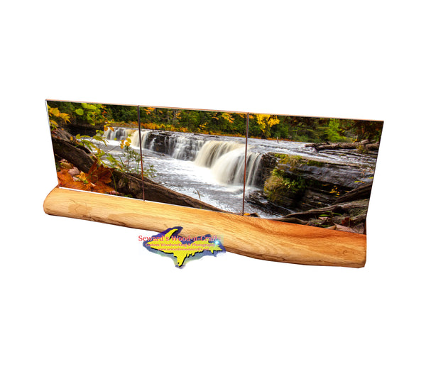 Waterfalls  Lower Tahquamenon Falls -1962 Michigan Art, Gifts, Souvenirs