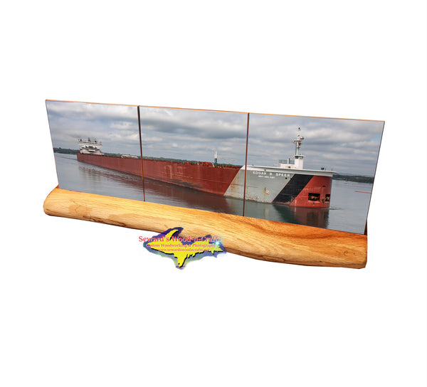 Edgar Speer ~  Great Lake Freighters Coasters & Trivets ~ For the Boatnerd in all of us!