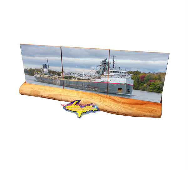 3pc Panoramic Set ~ Mississagi -1737  Great Lake Freighters Gifts & Collectibles