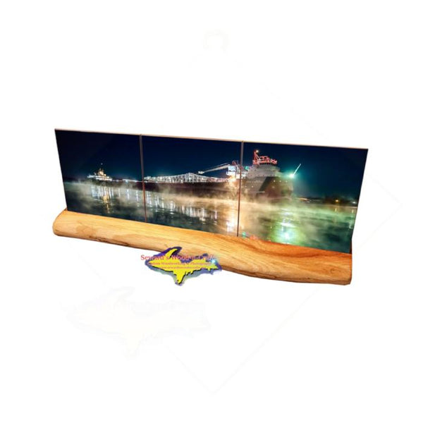 Great Lakes Freighter John G Munson Coaster Sets For Boat Fans