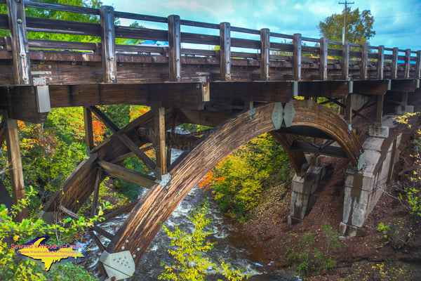 Michigan Landscape Photography Eagle River Bridge Keweenaw Peninsula Michigan Photos