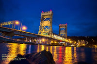Michigan Landscape Photography Portage Lake Lift Bridge The Gateway To Copper Country