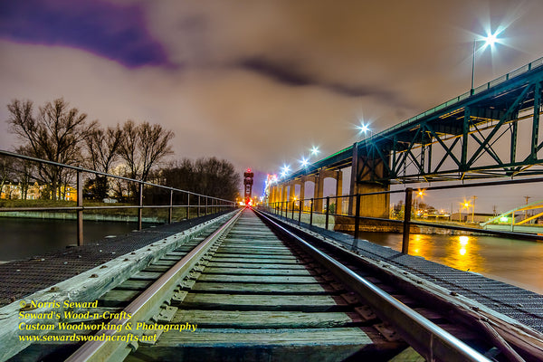 Sault Ste Marie Michigan Railroad Tracks -6766