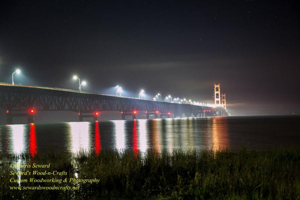 Michigan Landscape Photography Royalty Free Stock Images Mackinac Bridge