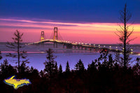 Mackinac Bridge Michigan Photography Prints, Canvas, & Metal