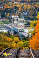 ridge Portage Lake Lift Houghton Michigan Autumn Colors