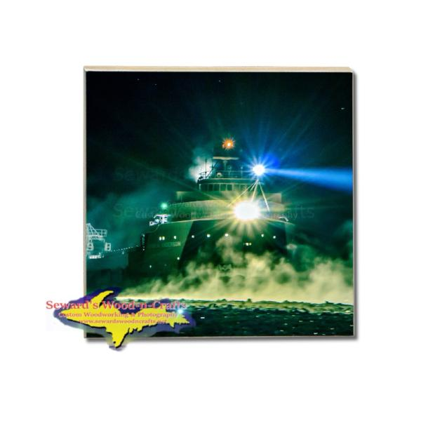 Freighter Arthur M. Anderson Coaster Great Lakes Fleet Marine Gifts & Collectibles For Boat Fans