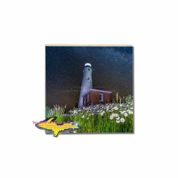 Build A Michigan Coaster Set Crisp Point Lighthouse Milky Way