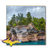 Best Michigan Made Drink Coasters Battleship Row Pictured Rocks Photos, Gifts, & Collectibles