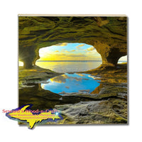 Best Michigan Made Drink Coasters Caves Of Paradise Pictured Rocks Photos, Gifts, & Collectibles