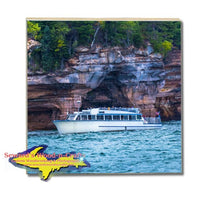 Michigan Made Drink Coasters Pictured Rocks Cruises Gifts, & Collectibles