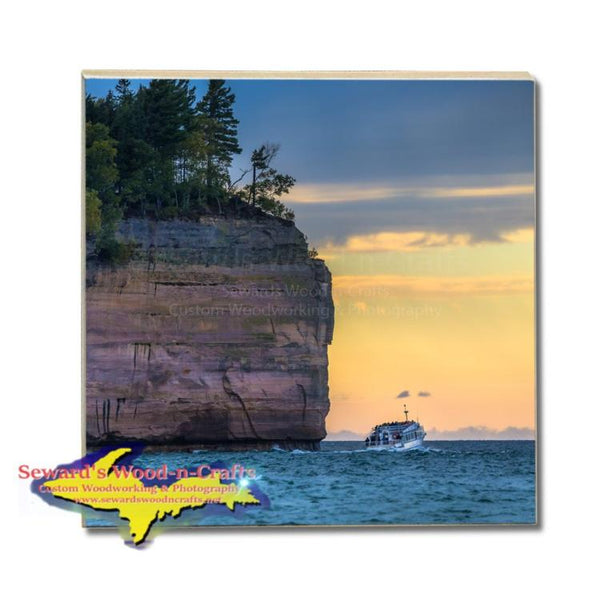 Made in Michigan Drink Coasters Best Pictured Rocks Gifts, & Collectibles