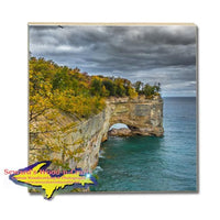 Drink Coasters Pictured Rocks Grand Portal Made In Michigan Gifts, & Collectibles Home Decor