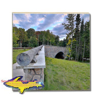 Michigan Drink Coasters Pictured Rocks Hurricane River Bridge Michigan Made Gifts, & Collectibles