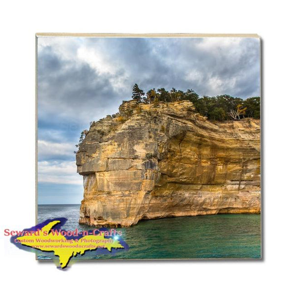 Michigan Made Drink Coasters Pictured Rocks Gifts, & Collectibles
