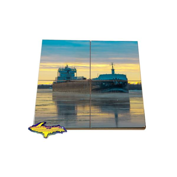 American Mariner Freighter Coaster Puzzle American Steamship Company Gifts & Collectibles