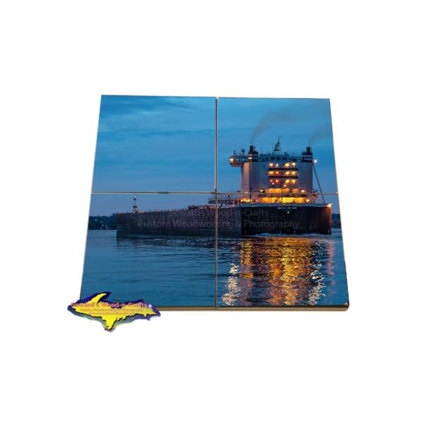 Burns Harbor Coaster Puzzle American Steamship Company Gifts & Collectibles