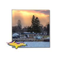 Michigan Made Clydes Drive Inn Coaster Sault Ste. Marie Michigan Gifts and memorabilia
