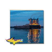 Lake Freighter Burns Harbor American Steamship Company Coasters and Collectibles