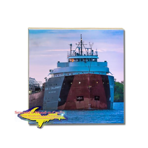 Cason J. Callaway Great Lakes Fleet Freighter Coasters Marine Gifts & Collectibles