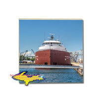 James L. Oberstar Coaster Great Lakes Freighter Soo Locks Gifts & Collectibles