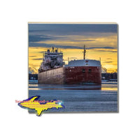 Freighter Hon. Paul J. Martin For Boat Fans! Great Lakes Marine Gifts & Collectibles For Ship Fans