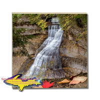 Made In Michigan Drink Coasters Chapel Waterfalls Pictured Rocks Gifts & Collectibles Home Decor