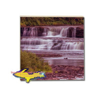 Drink Coaster Lower Tahquamenon Waterfalls Michigan's Upper Peninsula Online Gift Shop
