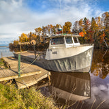 Brimley Michigan Fishing Boats Big Abe -6425