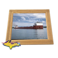 Framed Photo Stewart J. Cort Great Lakes Freighter Gifts & Home Decor