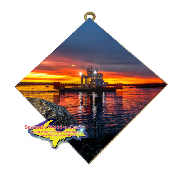 Michigan Made Wall Art Sugar Island  Gifts and artwork
