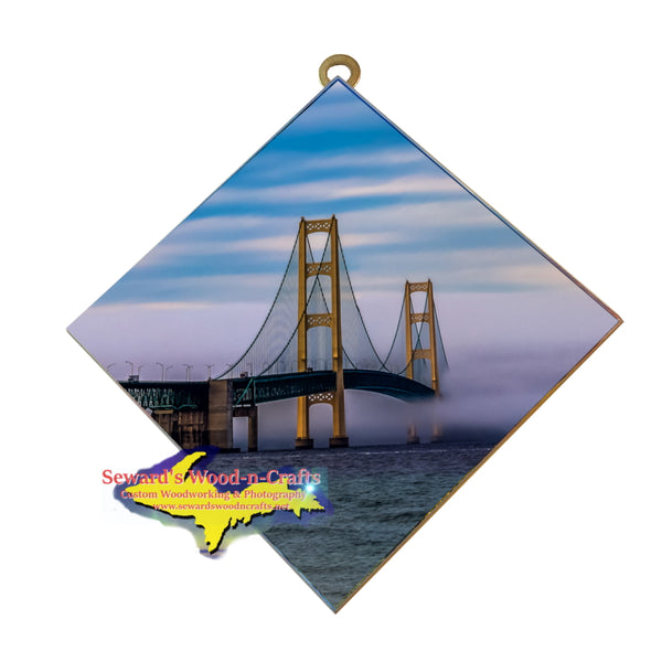 Hanging Tile ~ Mackinac Bridge -0005   Michigan Gifts