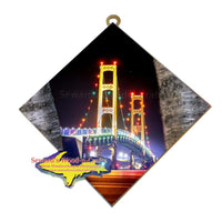 Michigan Made Wall Art Mackinac Bridge Unique and affordable Yooper gifts from Michigan's Upper Peninsula